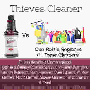 Thieves cleaner replaces cleaning products