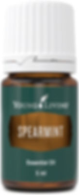 Young Living spearmint food grade essential oil