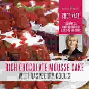 Rich Choc Mousse Cake Recipe with Orange Essential Oil