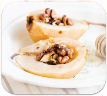 Baked Cinnamon Pears with Cinnamon Essential Oil