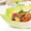Thai Lettuce Wraps Recipe with edible food grade basil essential oil Australia