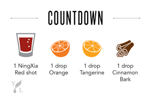 NingXia Red shot recipe orange tangerine cinnamon