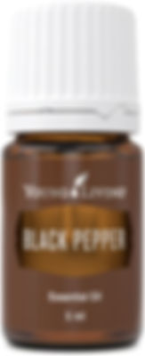 Young Living black pepper therapeutic food grade essential oil