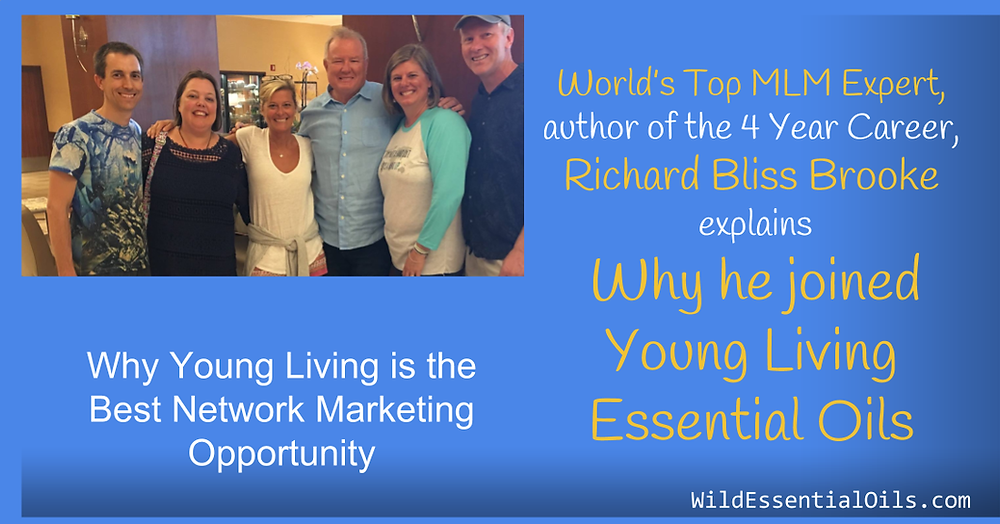 Best Network Marketing Opportunity in Australia - Richard Bliss Brooke Young Living interview
