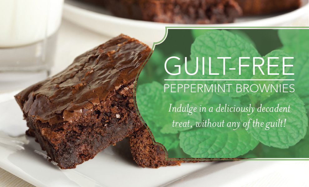 Peppermint Brownies Recipe with Peppermint Essential Oil