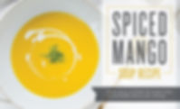 Spiced Mango Soup Recipe with Cinnamon Essential Oil