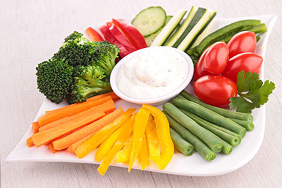 Dill Veggie Dip Recipe with Dill Essential Oil