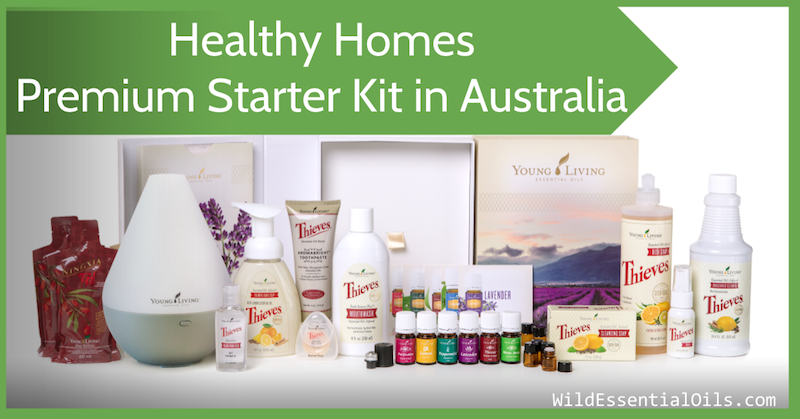 Healthy Homes Premium Starter Kit Australia Young Living