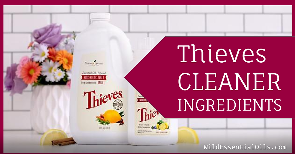 Thieves Cleaner Ingredients | Young Living Australia