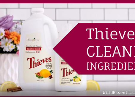 Thieves Household Cleaner Ingredients
