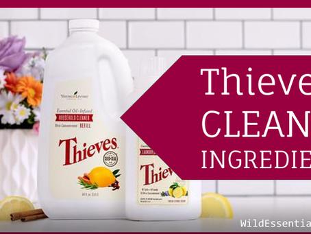 Thieves Household Cleaner Ingredients