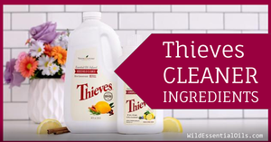 Thieves Cleaner Ingredients   Young Living Australia
