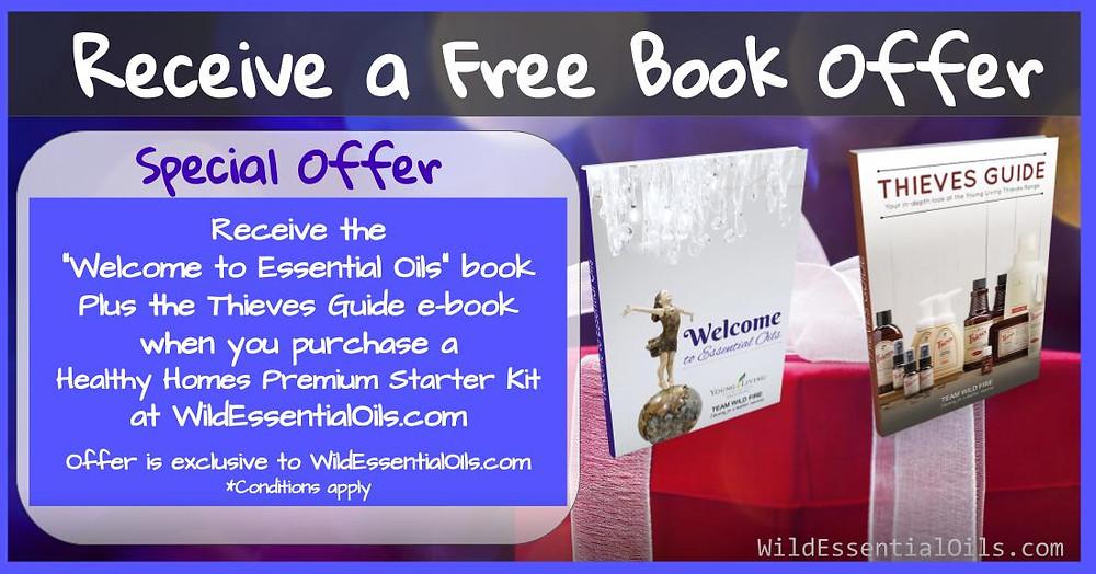 Free book offer for Healthy Homes Premium Starter Kit in Australia