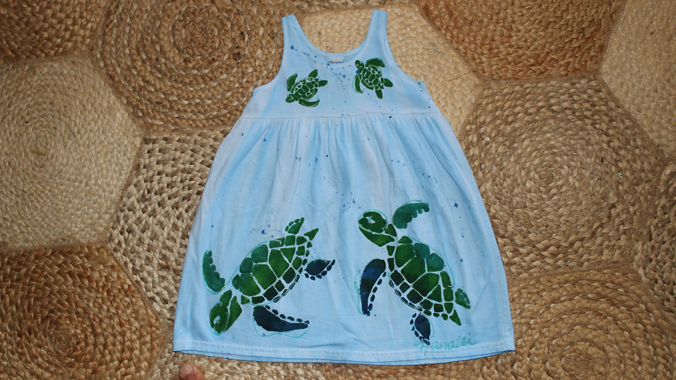Blue Turtle Dress