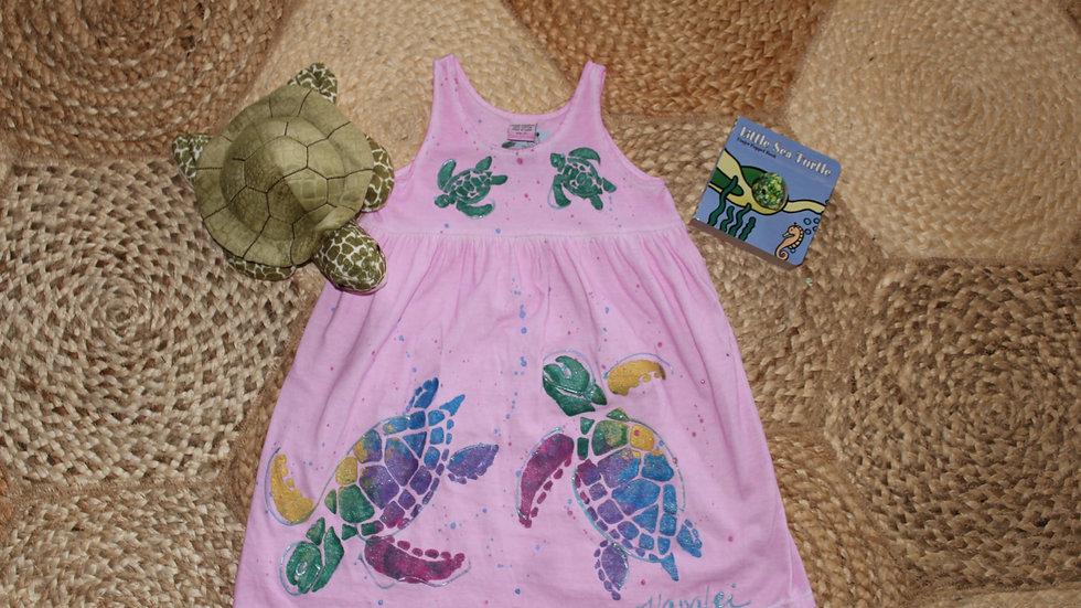 Pink Turtle Dress