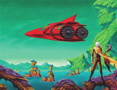 Sathar And Red Aircraft