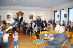 Praasniekkajuhla seurakuntasalilla