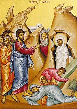 Kristus herättää Lasaruksen kuolleista