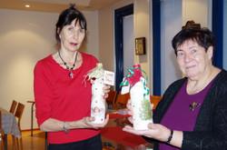 Joulumyyjäiset Vera ja Tuula