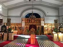 Pyhän Ristin kirkon alttari