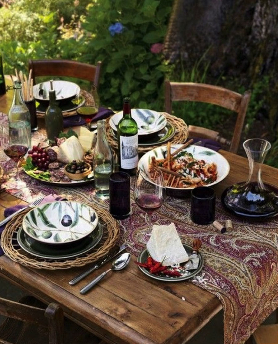 cena in toscana