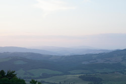 Incredible panorama from the Villa