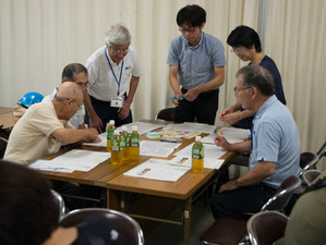 東区総合防災訓練 ワークショップ開催報告