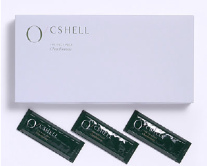 シャンパンの香りの発泡パック「オクシェル」