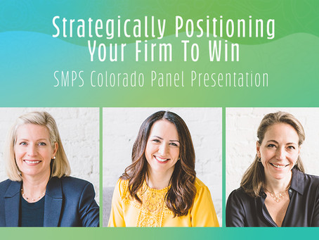 Strategically Positioning Your Firm to Win