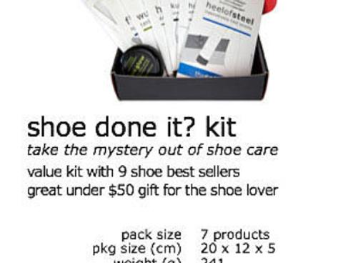 Shoe done it? Kit