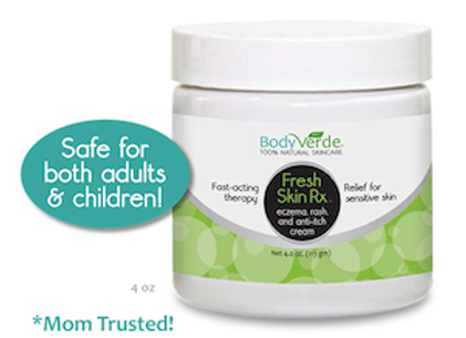 Fresh Skin Rx™ Eczema, Rash and Anti-Itch Cream