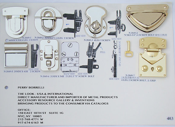 Turn Lock Styles 2