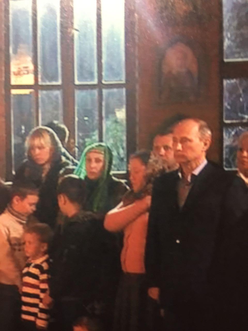 На службе с Президентом Путиным В.В