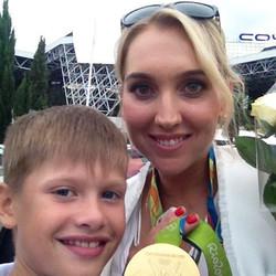 Веснина Е- олимпийская чемпионка