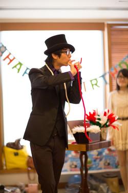 Magician Birthday Magic Balloon 111