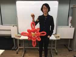 Magician Scarlet Balloon Decor 055