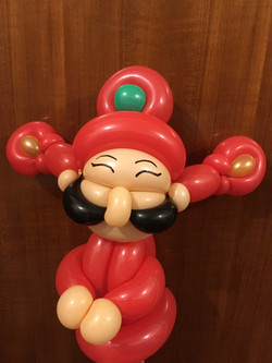 Magician Scarlet Balloon Decor 051