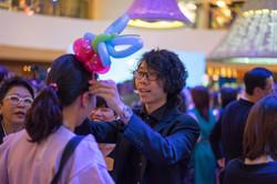 Magician Scarlet Party Balloon 070
