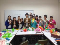 Magician Scarlet Balloon Class 016