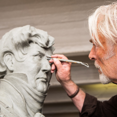 The Making of George IV Statue