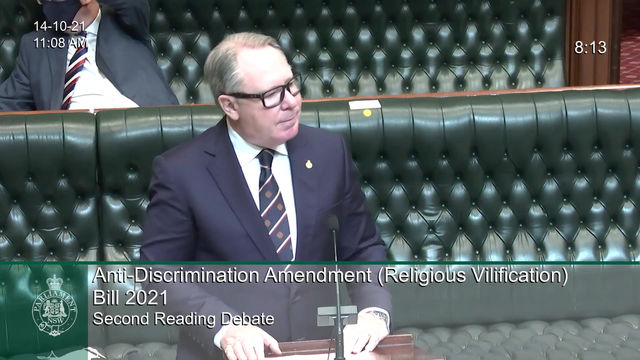 Religious Vilification in NSW must be made unlawful