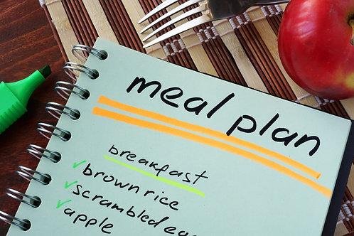 Custom Eating Plan