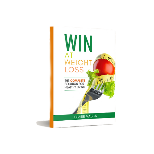 Signed Win at Weight Loss Book