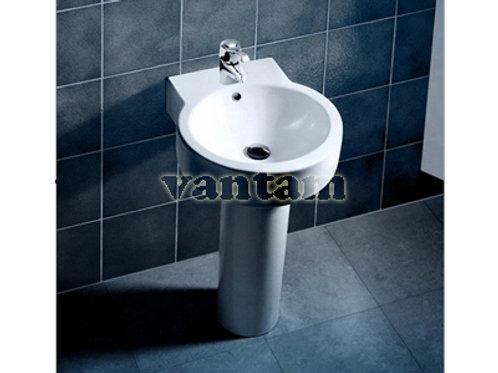 Caroma GEO Round basin with pedestal
