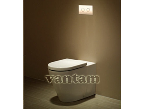 Caroma FOWLER  SEIDO Wall Faced toilet suite