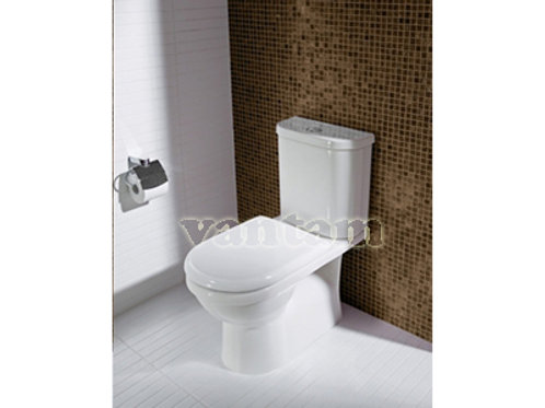 Caroma FOWLER NEWPORT CUBE Wall Faced Toilet suite