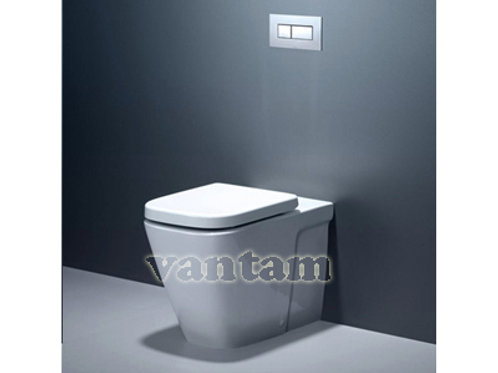 Caroma Cube Invisi TM Series II Wall Faced