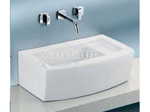 Caroma LUCID 550W Above Counter Vanity basin