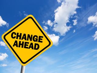 Change, change, change...