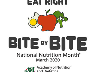 Happy National Nutrition Month!